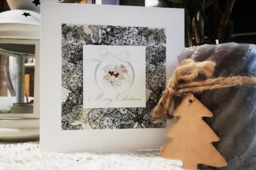 kartka świąteczna Boże Narodzenie handmade