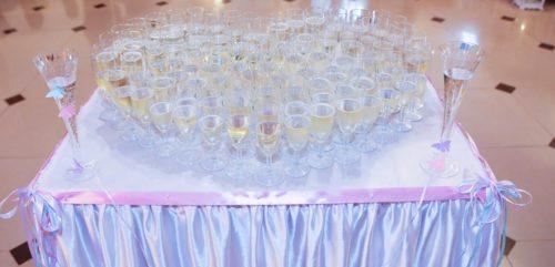 stolik na szampana