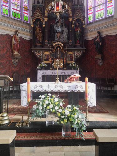 dekoracja ślubna w szkle