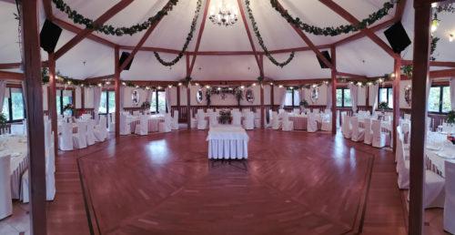 dekoracja sali weselnej w stylu boho