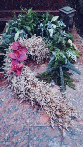 dekoracja na grób